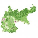 Bevölkerungsdichte 1885