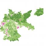 Bevölkerungsdichte 1925